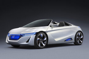 The Honda EV-STER Concept. See more pictures of concept cars.