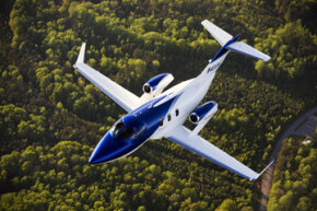 The result of 20 years of aviation research, HondaJet innovations include a patented over-the-wing engine-mount configuration, a natural-laminar flow (NLF) wing and fuselage nose and an advanced all-composite fuselage structure.
