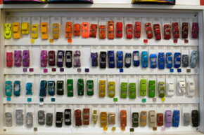 Hot Wheels paint tests