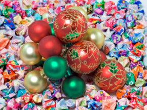 Store-bought Christmas ornaments like these are pretty, but they can be pricey, too. Homemade ornaments can be inexpensive and fun to create.