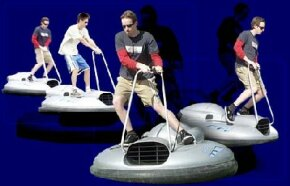 The Airboard is the first commercially-marketed single-person hovercraft.