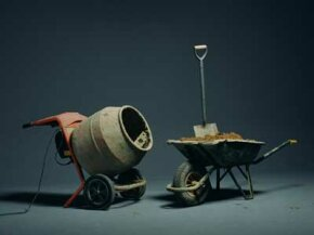 Concrete mixers, shovels and wheelbarrows aren't complicated, but the right mixture is essential to any project.