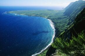 The Kalaupapa peninsula of the Hawaiian island of Molokai was turned into the first leprosy colony in 1866.