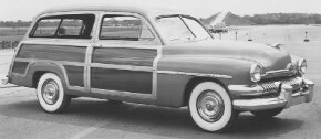 The 1951 Mercury wagon