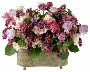 Learn how to make a mixed arrangement. See more pictures of flowers.