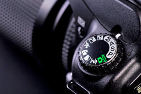 Don't forget to clear gunk from around control dials and buttons, otherwise, built-up dirt can affect camera operation.