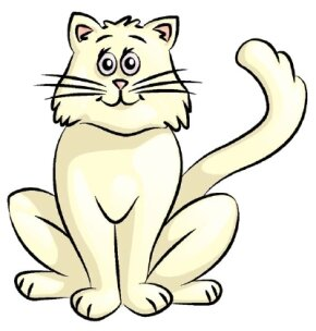 Cat Image Gallery Learn how to draw a cat in just five easy steps. Get detailed instructions and helpful illustrations for each step of your cat drawing. See more pictures of cats.