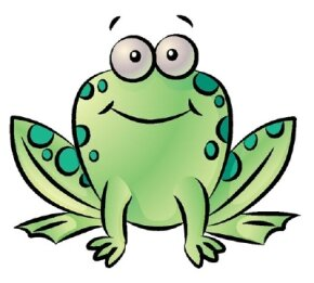 Learn how to draw this frog.