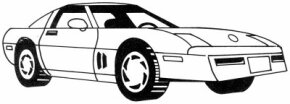 Learn how to draw this Corvette.