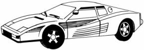 Sports Car Image Gallery Known around the world for its looks and craftsmanship, the Ferrari is also a great car to draw. Learn how to draw a Ferrari. See more pictures of sports cars.