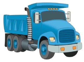 Learn how to draw dump trucks and other construction vehicles with our simple instructions.