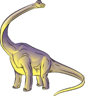 Learn how to draw this Brachiosaurus dinosaur.