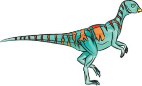 Dinosaur Image Gallery Hypsilophodon dinosaurs all-over stripes are fun to draw and color. See more dinosaur pictures.