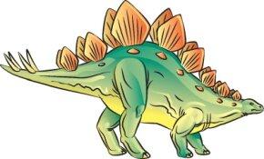 Learn how to draw this Stegosaurus dinosaur.