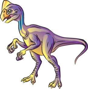 Dinosaur Image Gallery The Oviraptors large, sharp claws are a scary sight. See more dinosaur pictures.