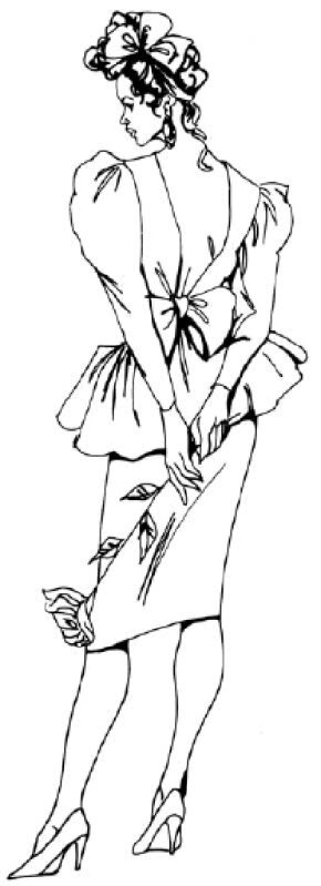 Learn how to draw a woman in a cocktail dress by following our step-by-step directions. Challenge your inner artist as you learn how to draw people.