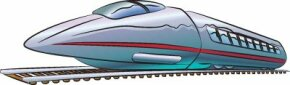 Bullet trains are the fastest trains around, zooming down the tracks at high speeds.
