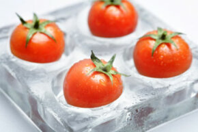 Frozen tomatoes yield great stews and sauces in the wintertime, when fresh produce can be hard to find. See more pictures of heirloom tomato pictures.