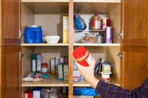 Keeping your pantry organized can help you find what you need more easily.