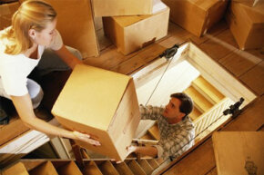 A good organization scheme can give you lots more storage space in your attic.
