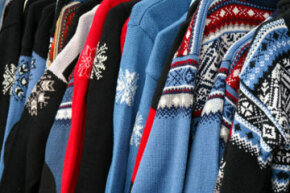 Nordic sweatersshould be put awayin the summer.