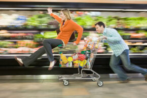Prioritizing daily errands makes chores like grocery shopping much less stressful.