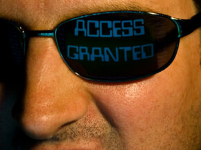 If your network isn't secure, hackers could get access to your private information.