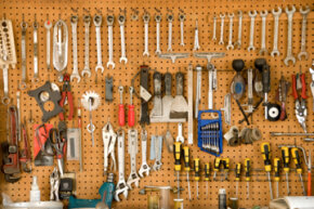 Even if you're not neat by nature, it's hard to deny the appeal of a well-organized set of tools.