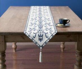 Stencil a Grand Table Runner.