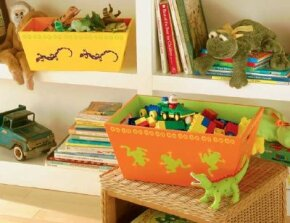 Organize clutter with these great-looking Creepy-Crawly Nesting Boxes.
