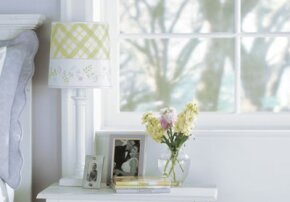 The Lovely Lampshade has light, summery charm.