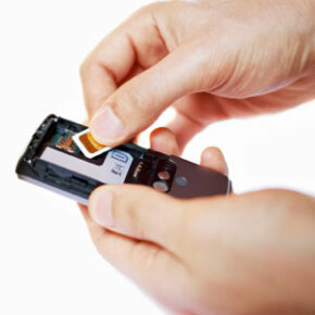 Replacing the SIM card in a cell phone is easy, but it only works if the phone is unlocked.