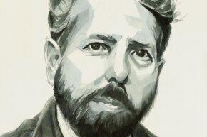 A portrait of Stanley Milgram