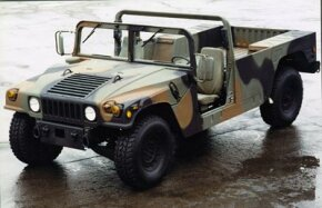 Image Gallery: Off-roading The Humvee Base Model. See pictures of off-roading.