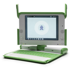 The XO laptop was designed to be a lightweight and affordable laptop that is meant for developing countries. See more laptop pictures.