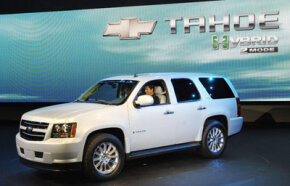 The Chevrolet Tahoe Hybrid slightly improves the fuel efficiency of its conventional counterpart.