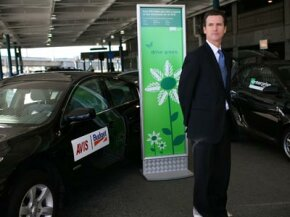 """Other incentives to use hybrid cars are popping up, like San Francisco mayor Gavin Newsom's """"Green Rental Car"""" incentive program, which offers drivers a rebate for renting a hybrid vehicle."""