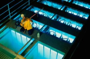 Hydrologists continually search for ways to improve water treatment plants.