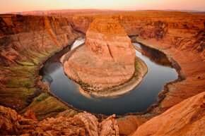 A RiverStar system would involve placing modules throughout a waterway (like the stately Colorado River pictured here) rather than damming it in one specific location.