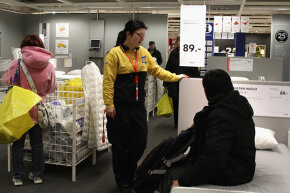 Remember to talk to and treat IKEA employees like humans.