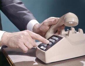In days past, telephone customers had to rent phones from their phone company.