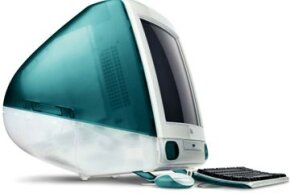 The original bondi blue iMac re-established Apple's brand and solidified the company's reputation for sleek, innovative design.