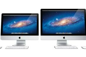 The 2011 editions of the iMac lineup came in two different screen sizes and four different price points.
