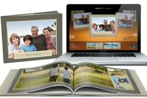 iPhoto empowers users to design custom photo albums, and even integrates a printing service to bring those albums to life as hard-cover keepsakes.