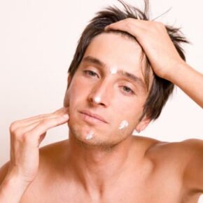 Moisturizing is an important part of daily skincare -- even for men.