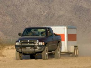Manufacturers build cars and trucks to meet specific towing capacities.