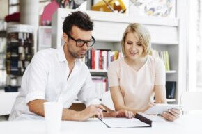 One spouse's tax refund can be applied to the other's debt.