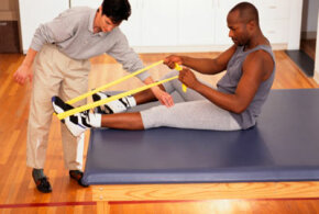 Physical therapy is usually covered as an inpatient service.