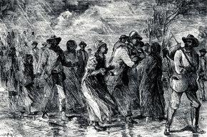 Ellen and William Craft didn't seek their freedom via the Underground Railroad pictured here. Nope, their daring escape started with a Savannah-bound train.