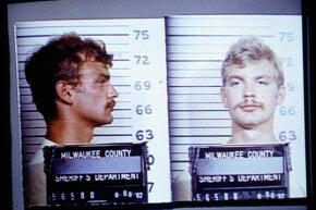 Dahmer's July 23, 1991 mug shots.